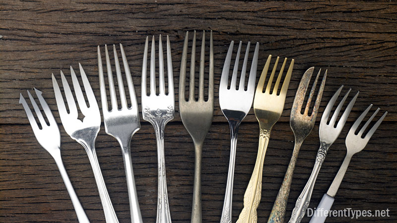 types of forks