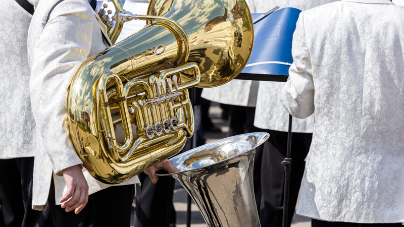 types of tubas